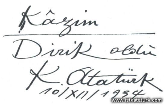 Atatürk'ün Verdiği İsimler ve Soyadları (3/6)