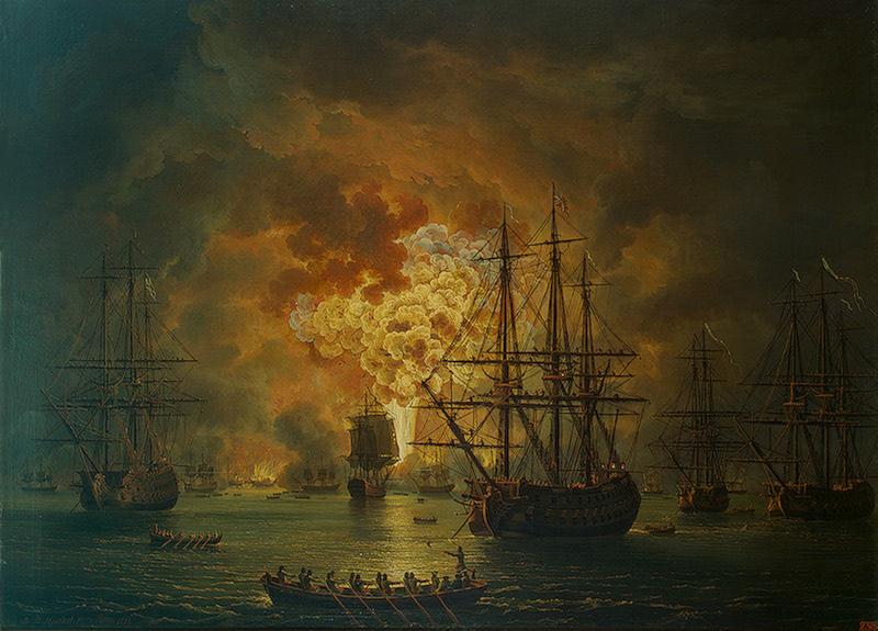 1771  çeşme deniz savaşı ile ilgili görsel sonucu