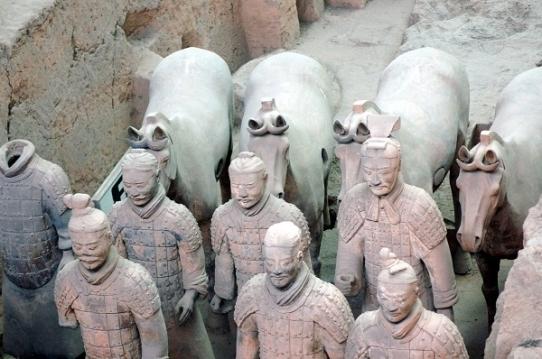 Çin han mezarları